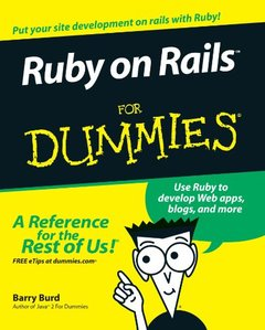 Ruby on Rails For Dummies-cover