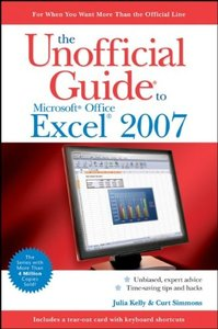 The Unofficial Guide to Microsoft Office Excel 2007-cover