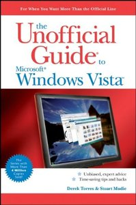 The Unofficial Guide to Windows Vista (Paperback)-cover