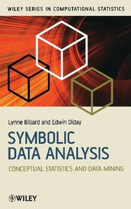 Symbolic Data Analysis: Conceptual Statistics and Data Mining-cover