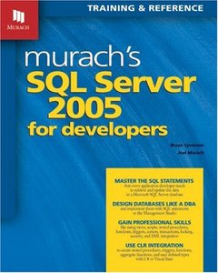 Murach's SQL Server 2005 for Developers-cover