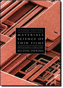 The Materials Science of Thin Films, 2/e-cover