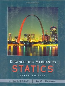 Engineering Mechanics - Statics, 6/e