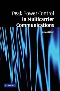 Peak Power Control in Multicarrier Communications-cover