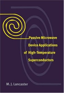 Passive Microwave Device Applications of High-Temperature Superconductors-cover