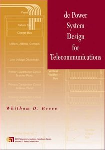 DC Power System Design for Telecommunications-cover