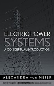 Electric Power Systems: A Conceptual Introduction-cover