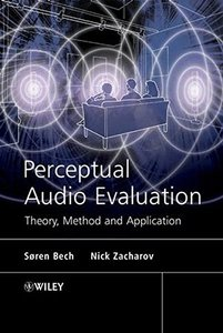 Perceptual Audio Evaluation - Theory, Method and Application-cover
