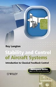 Stability and Control of Aircraft Systems: Introduction to Classical Feedback Control-cover