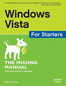 Windows Vista for Starters : The Missing Manual (Paperback)-cover