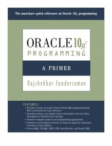 Oracle 10g Programming: A Primer-cover