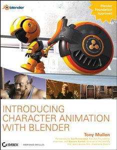 Introducing Character Animation with Blender-cover