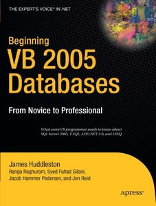 Beginning VB 2005 Databases: From Novice to Professional-cover