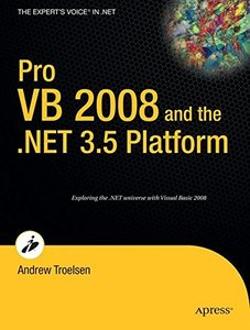 Pro VB with the .NET 3.0 Extensions, 3/e-cover