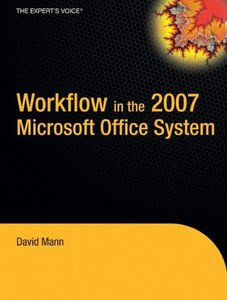 Workflow in the 2007 Microsoft Office System (Paperback)-cover
