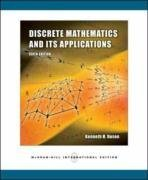 Discrete Mathematics and Its Applications, 6/e (IE) (美國版ISBN:0073312711)-cover
