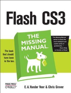 Flash CS3: The Missing Manual-cover
