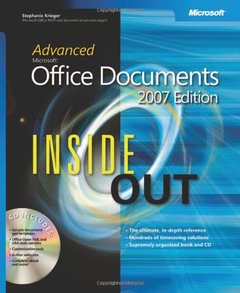 Advanced Microsoft Office Documents 2007 Edition Inside Out-cover