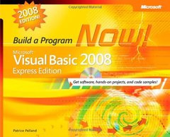 Microsoft Visual Basic 2008 Express Edition: Build a Program Now!-cover