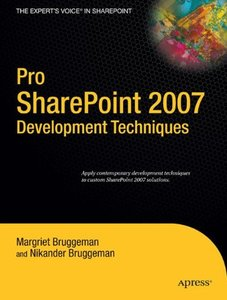 Pro SharePoint 2007 Development Techniques (Paperback)-cover