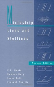 Microstrip Lines and Slotlines, 2/e-cover