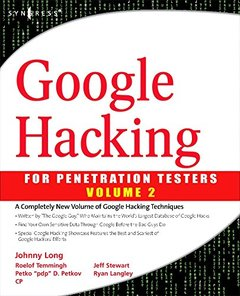 Google Hacking for Penetration Testers, Volume 2 (Paperback)-cover