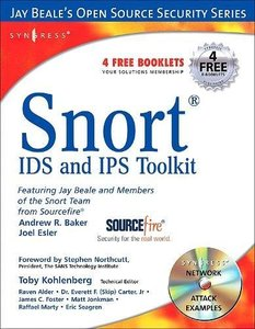 Snort Intrusion Detection and Prevention Toolkit (Paperback)-cover