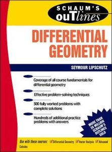 Schaum's Outline of Differential Geometry (Paperback)-cover