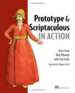 Prototype and Scriptaculous in Action-cover