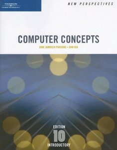 New Perspectives on Computer Concepts, Introductory, 10/e (Paperback)-cover
