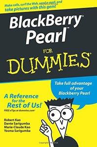 BlackBerry Pearl For Dummies-cover