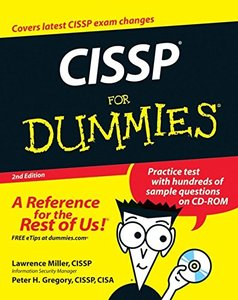CISSP For Dummies, 2/e (Paperback)-cover