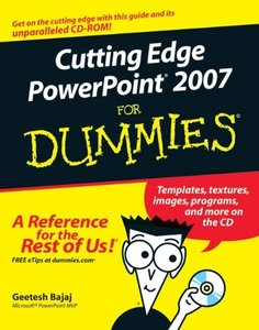 Cutting Edge PowerPoint 2007 For Dummies-cover