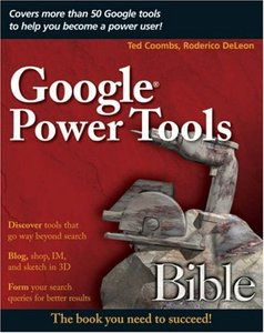 Google Power Tools Bible-cover