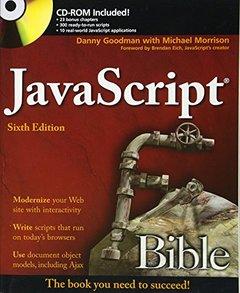 JavaScript Bible, 6/e (Paperback)-cover
