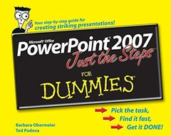 PowerPoint 2007 Just the Steps For Dummies-cover