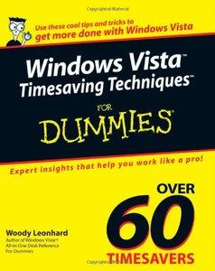 Windows Vista Timesaving Techniques For Dummies