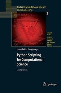 Python Scripting for Computational Science, 2/e-cover