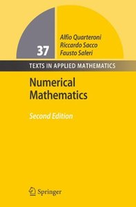 Numerical Mathematics (Hardcover)-cover