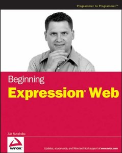 Beginning Expression Web-cover