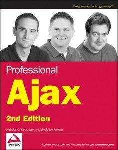Professional Ajax, 2/e (Paperback)-cover