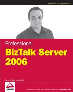 Professional BizTalk Server 2006 (Paperback)-cover
