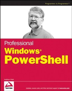 Professional Windows PowerShell (Paperback)-cover
