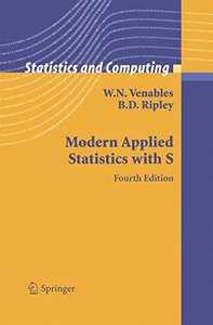 Modern Applied Statistics with S, 4/e-cover