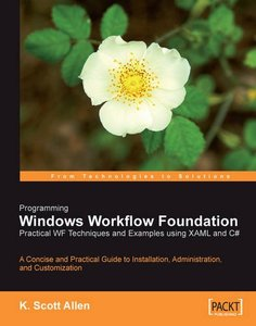 Programming Windows Workflow Foundation: Practical WF Techniques and Examples using XAML and C#-cover