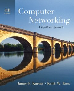 Computer Networking: A Top-Down Approach, 4/e (Hardcover)-cover