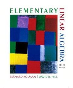 Elementary Linear Algebra, 8/e (Hardcover)-cover