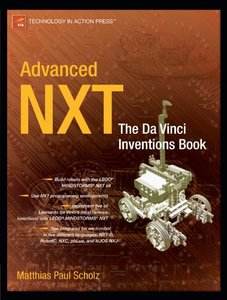 Advanced NXT: The Da Vinci Inventions Book-cover