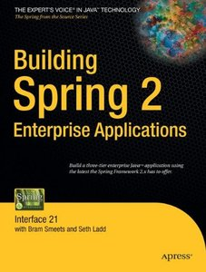 Building Spring 2 Enterprise Applications (Paperback)-cover