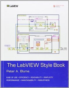 The LabVIEW Style Book (Hardcover)(美國原版)-cover